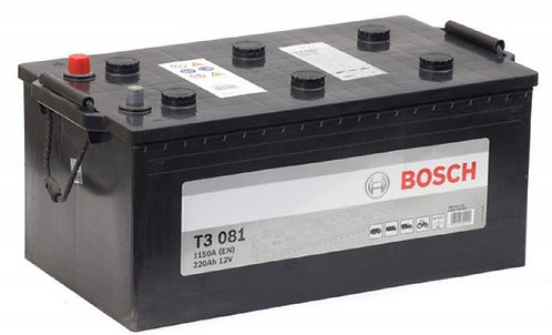 Аккумулятор BOSCH T3 6CT-220 (720 018 115) евро.конус