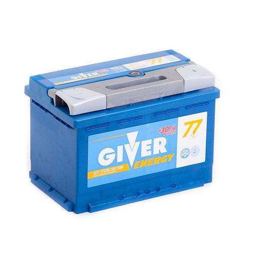 Аккумулятор GIVER ENERGY 6СТ -77.0