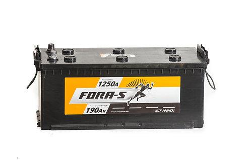 Аккумулятор FORA -S 6СТ - 190 узкий.евро конус