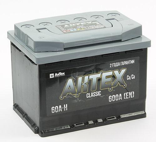 Аккумулятор АКТЕХ CLASSIC 6СТ-60.1 VL3