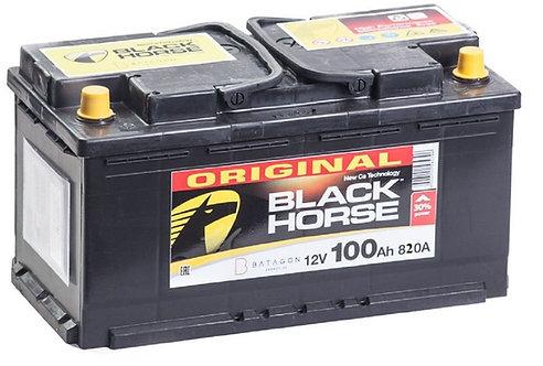 Аккумулятор Black Horse 6СТ-100.0