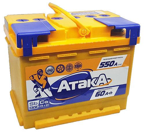 Аккумулятор АТАКА 6СТ -60.0