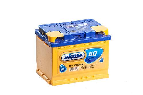Аккумулятор АКОМ 6СТ-60.0