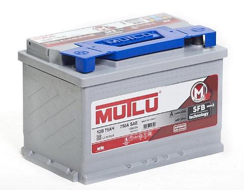 Аккумулятор Mutlu SFB M3 6СТ-75.1
