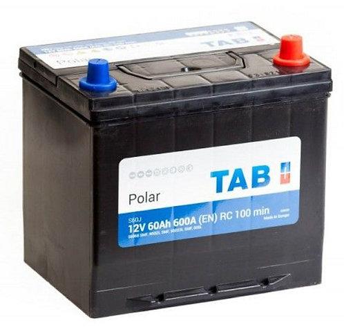 Аккумулятор TAB Polar 6СТ-60.0 (56068) яп. ст/бортик