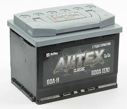 Аккумулятор АКТЕХ CLASSIC 6СТ-60.0 VL3