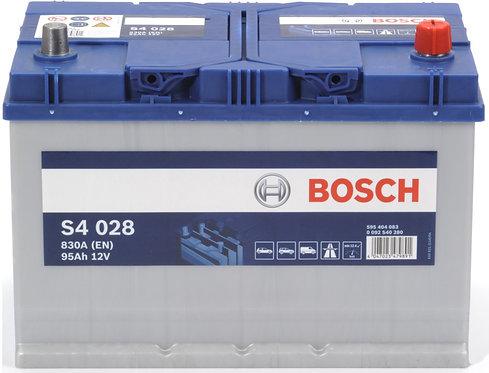 Аккумулятор BOSCH S4 95.0  (595 404 083) яп.ст/бортик