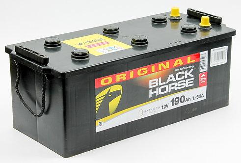Аккумулятор Black Horse 6СТ-190 росс.конус