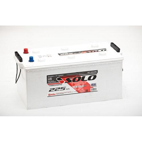 Аккумулятор SOLO TT 6СТ-225N3 евро. конус