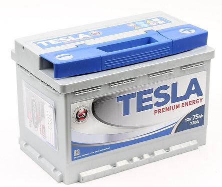 Аккумулятор TESLA PREMIUM ENERGY 6СТ-75.0