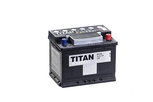 Аккумулятор TITAN STANDART 6СТ-60.0 VL