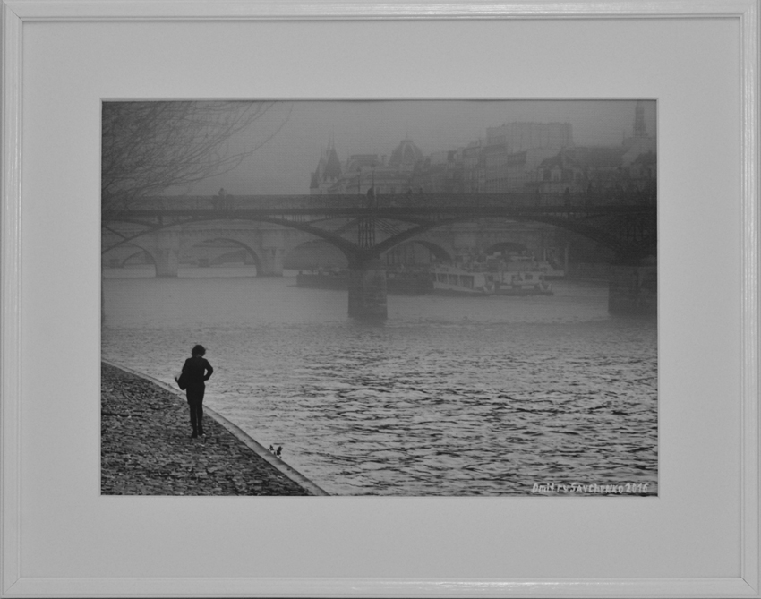 """Morning. Paris. Seine"""