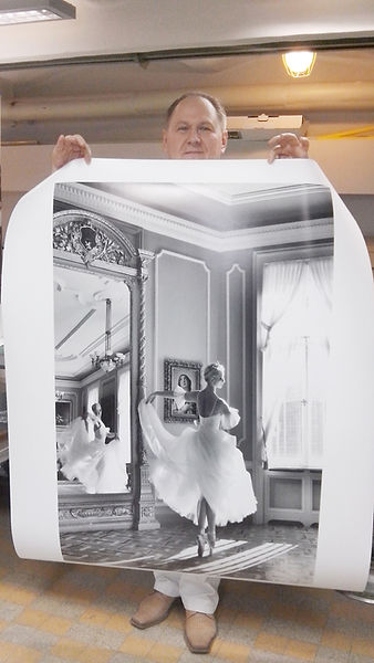 LARGE FORMAT , Giclée print. Archival heavy weight matte paper.