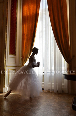 """ Contre-jour. Potocki Palace """