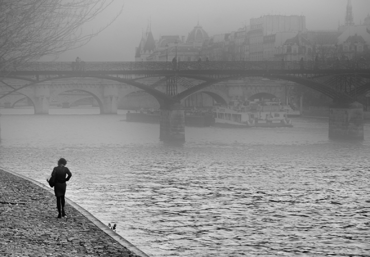 """Morning.Paris.Seine"""