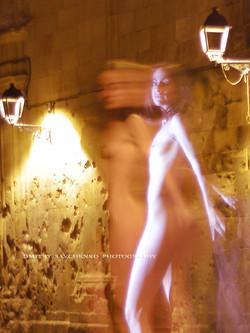 """Cryptic night. Barcelona"""