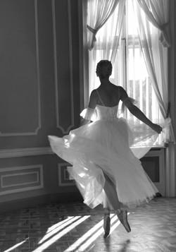 ' Ballerina. Contre-jour '