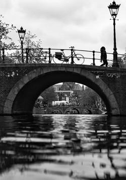 """Bridge in Amsterdam"""