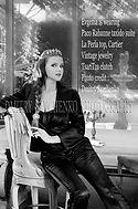 """Evgenia Lorcy Designer/Founder """" TsariTza Paris """""""