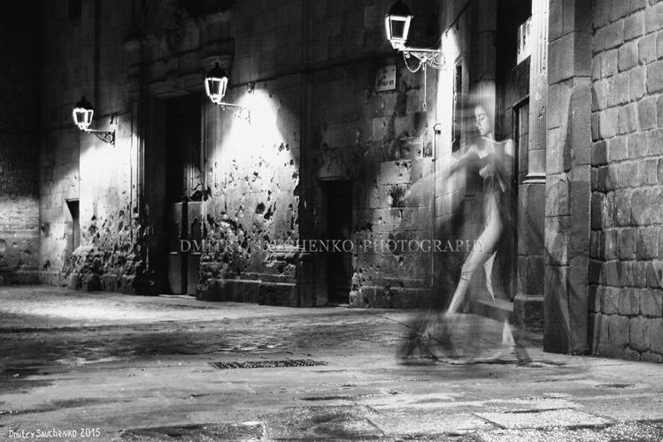 """""""Rainy Night. Barcelona"""""""