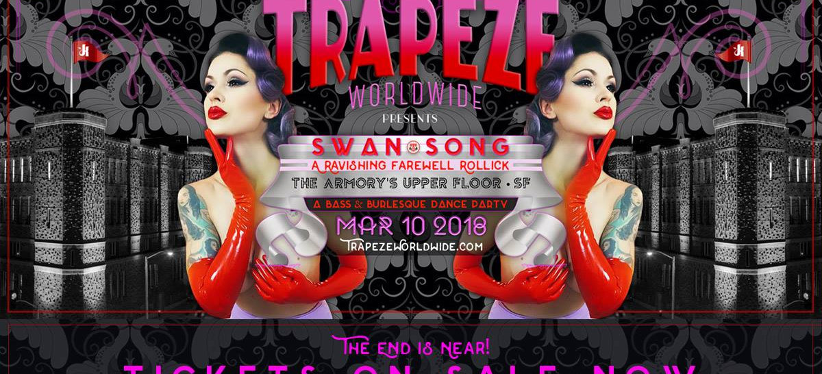Trapeze SF: Swan Song A Ravishing Farewell Rollick