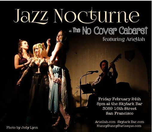 Jazz Nocturne at No Cover Cabaret is TON