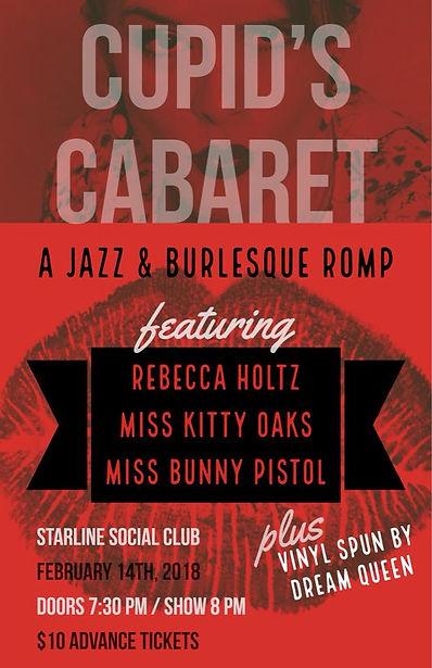 Cupid's Cabaret at Starline Social Club