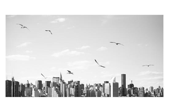 CITYSCAPE #1 B&W