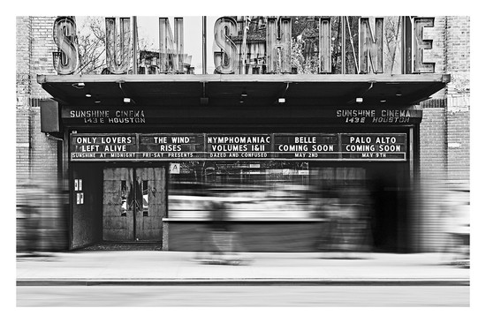 CINEMA #1 B&W