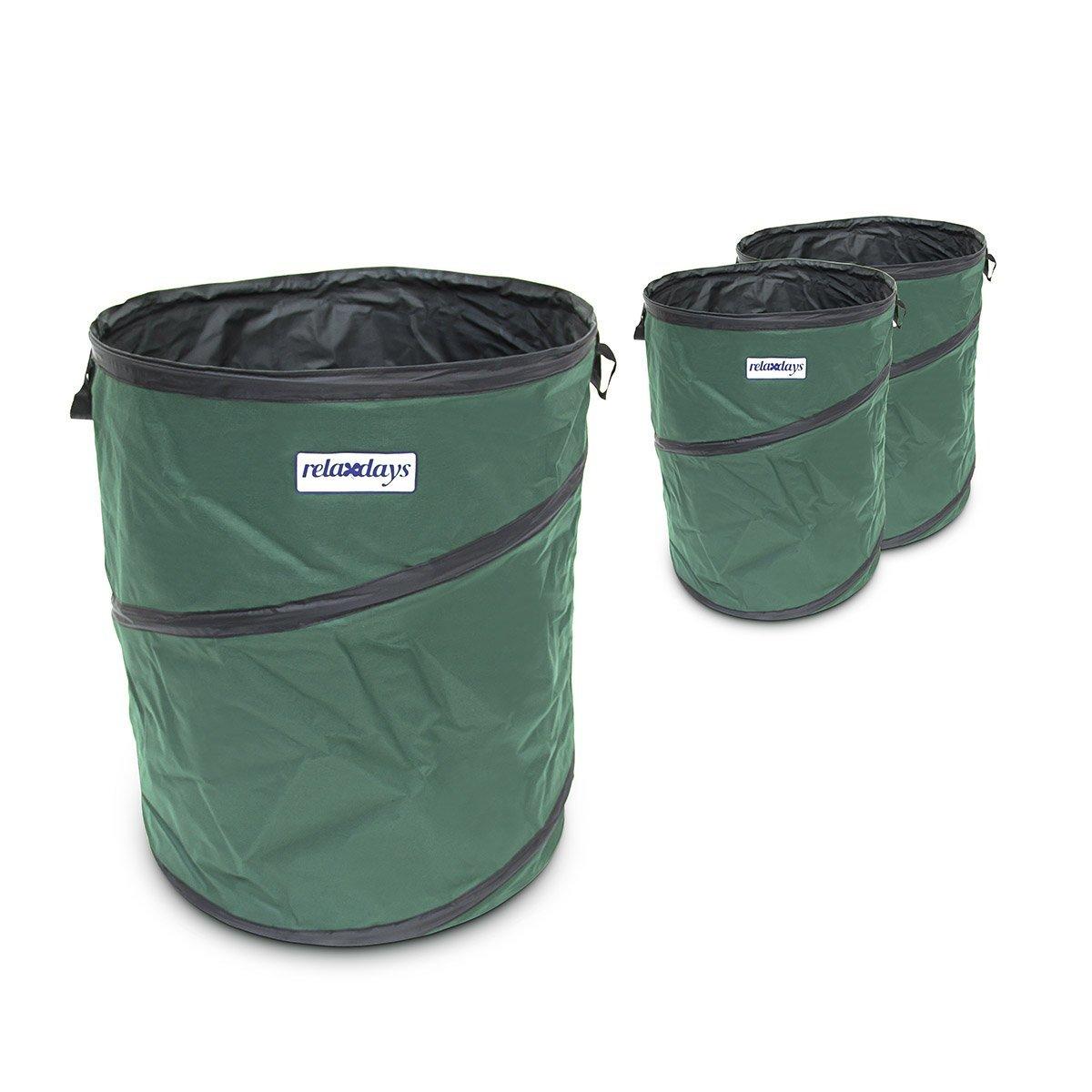 Cubo basura plegable (162 litros)