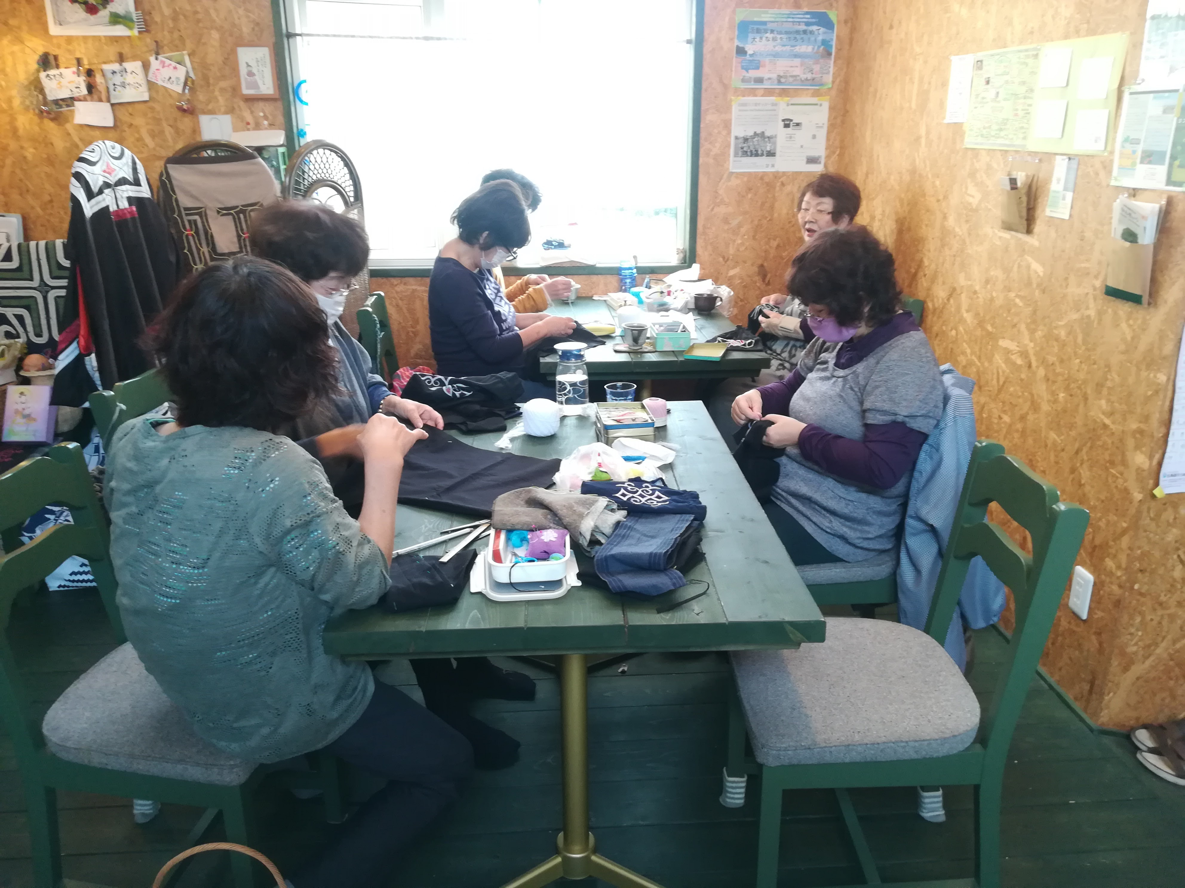 アイヌ文様刺繍教室