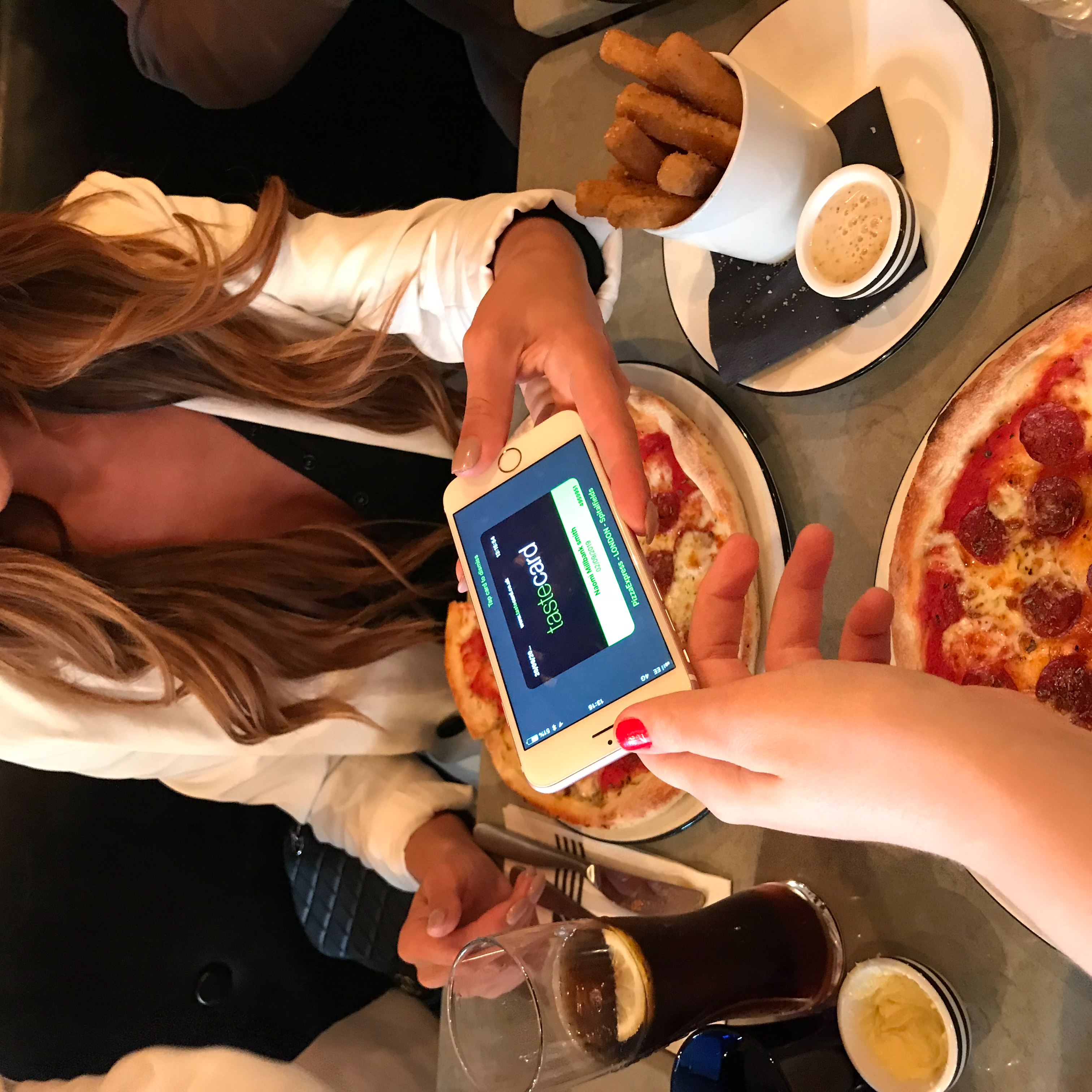 Girly Lunch At Pizza Express With Tastecard