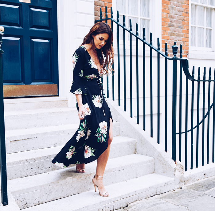 Another Floral Maxi to add to the Collection 🙌🏼