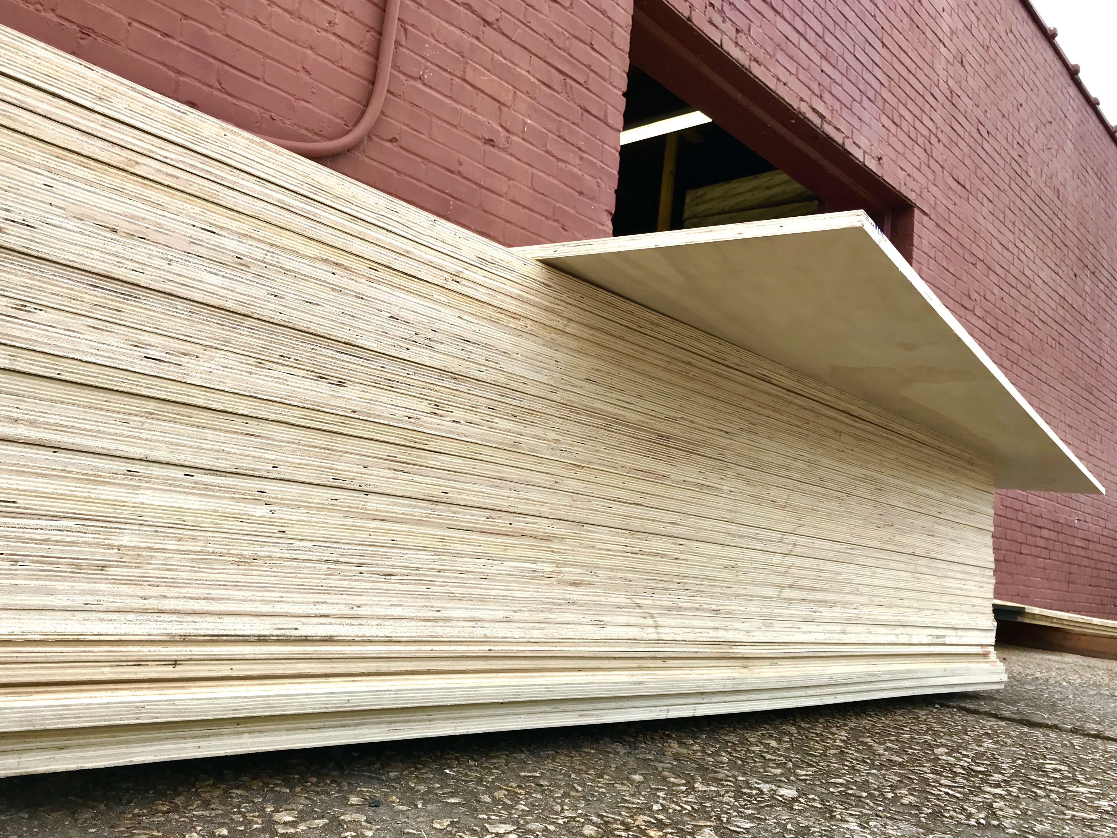 New Plywood Arrival