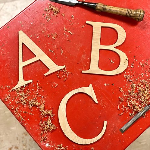 6'' Wooden Letters