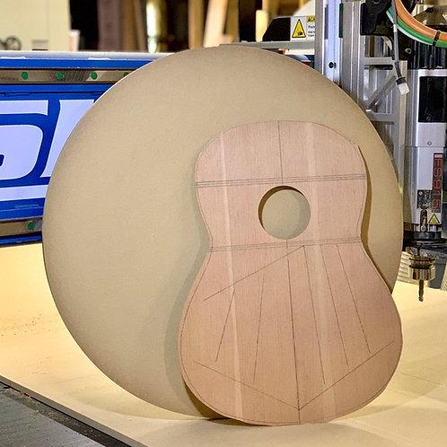 Guitar Radius Dish / Disc Form