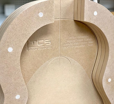 Classical Guitar Solera Workboard and Side Mold