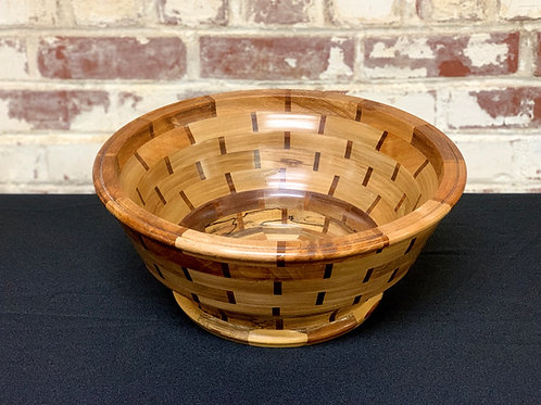 """""""Cottage Harvest"""" -  Fall 2020 Collection Segmented Bowl"""