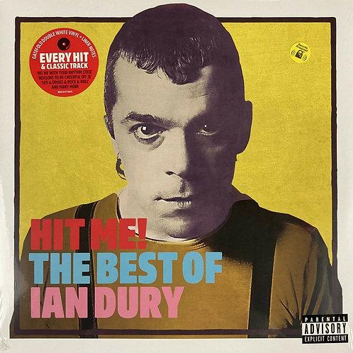 Hit Me! The Best Of Ian Dury 2 x White Vinyl