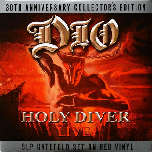Dio - Holy Diver Live 3 LP Red Vinyl 30th Anniversary
