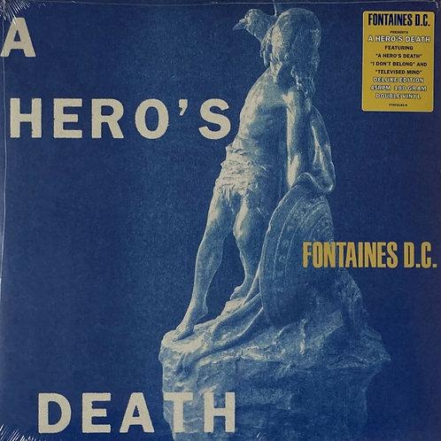 Fontaines DC - A Hero's Death - 2 x 180gm Vinyl LP Deluxe 45RPM