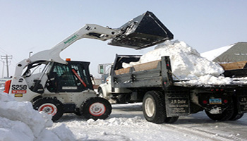 snow-hauling