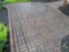 Power washing brick patio in napoleon ohio