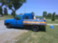 Pressre washing and house wash truck in otawa ohio