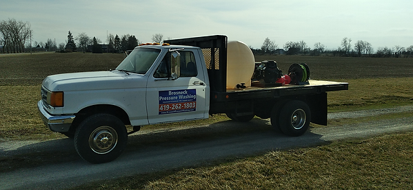 It's an image of our pressure washing truck near Ottawa, Ohio.