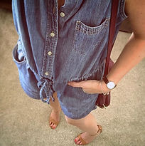 #tbt to the time I took on the denim jum