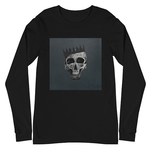 SKULL KING BLACK EDITION: Unisex Long Sleeve Tee