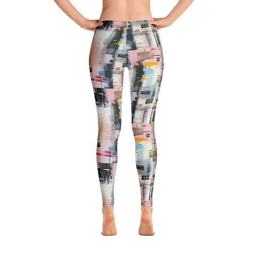 Abstract Arabia Yoga Pants