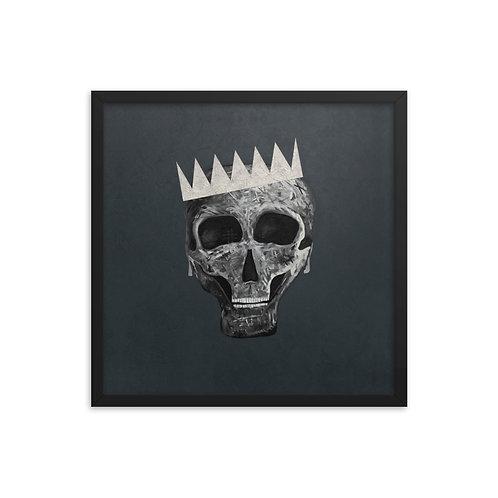 SKULL KING Framed Poster
