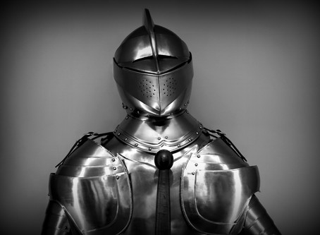It's time to take off the emotional armour and unleash your potential